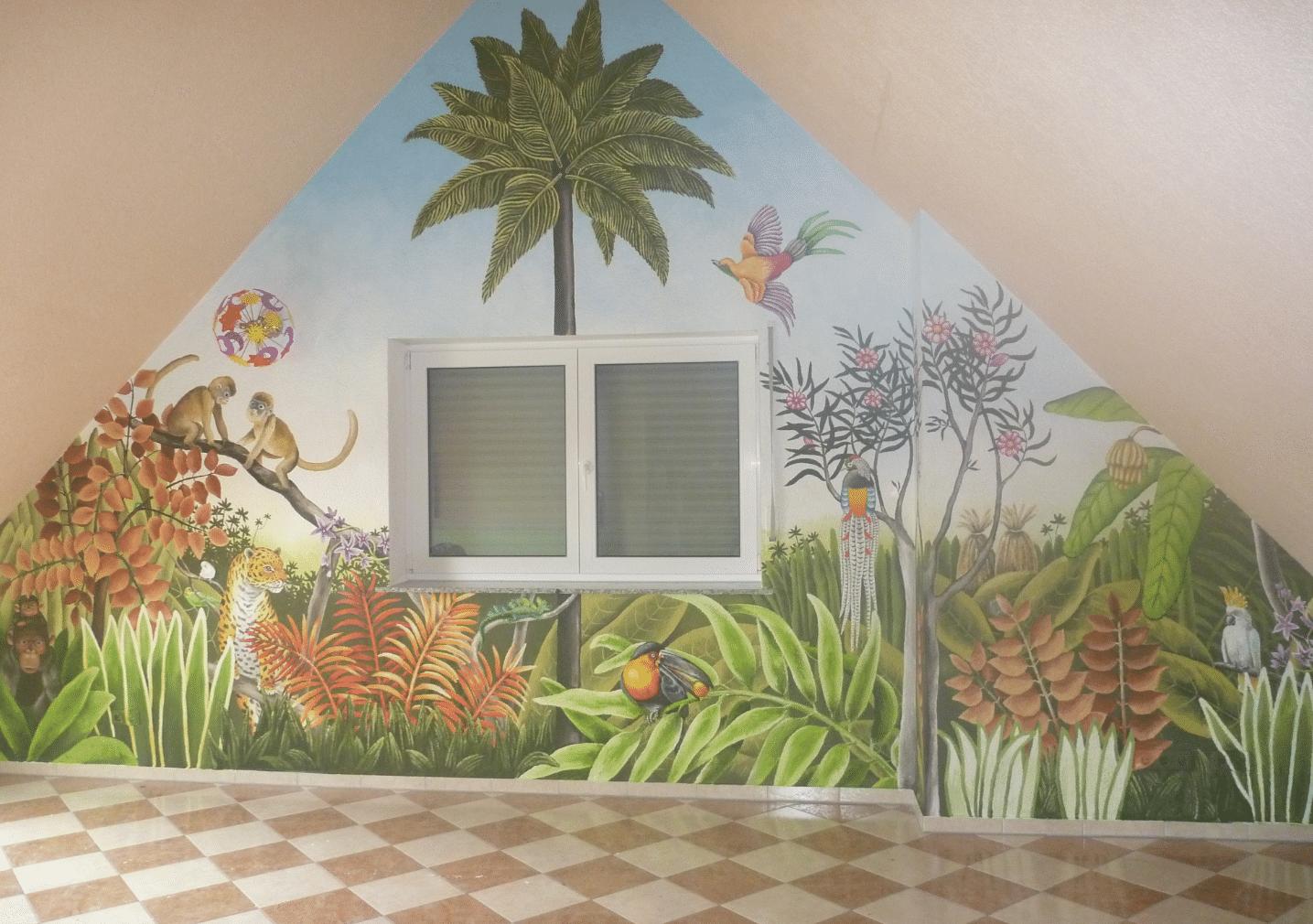 Kinderzimmer im Dachgeschoss 1