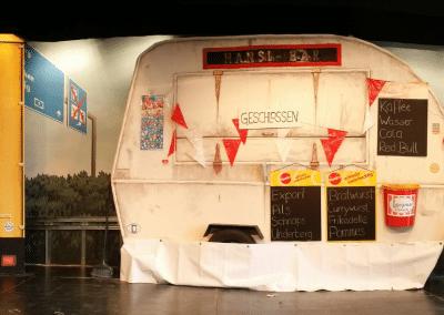 Theater: Bühnenbildmalerei 4
