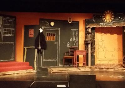 Theater: Bühnenbildmalerei 3