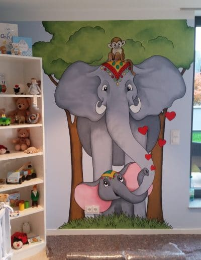 Kinderzimmermalerei 2