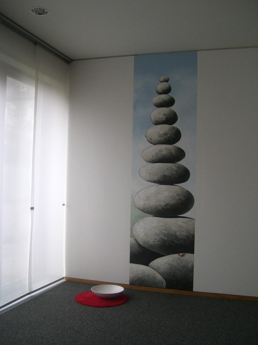 Martinushaus (plakative Wandmalerei)