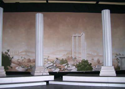 Theater: Bühnenbildmalerei 2