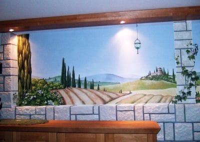 Toscanalandschaft 3