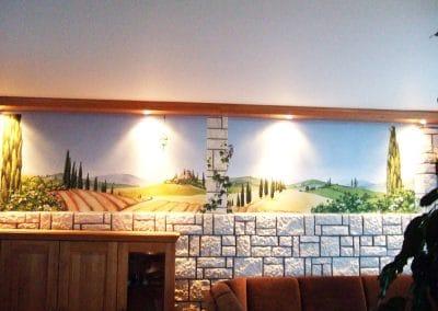 Toscanalandschaft 2