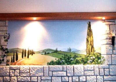 Toscanalandschaft 1