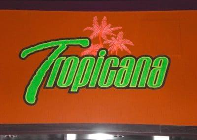 Tropicana (plakative Wandmalerei) 6