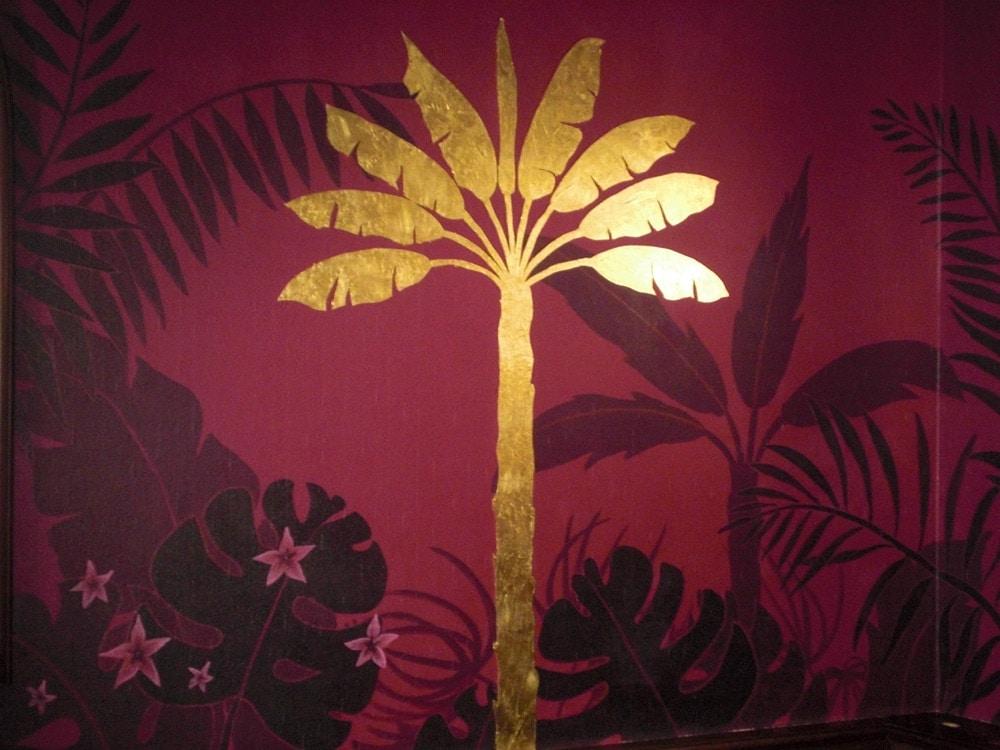 Tropicana (plakative Wandmalerei)