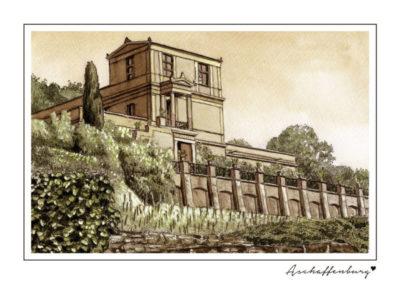 Postkarten Aschaffenburg 11