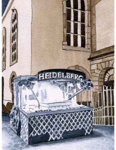 Postkarten Heidelberg 1