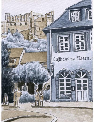 Postkarten Heidelberg 2