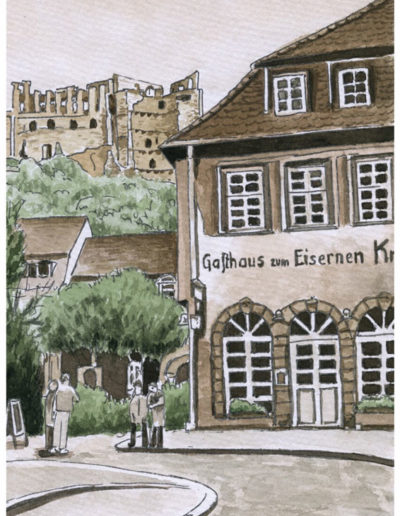 Postkarten Heidelberg 3