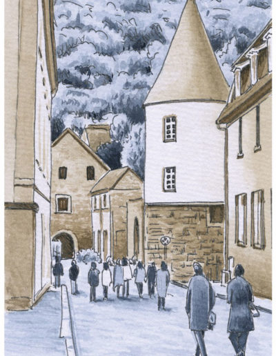 Postkarten Heidelberg 4