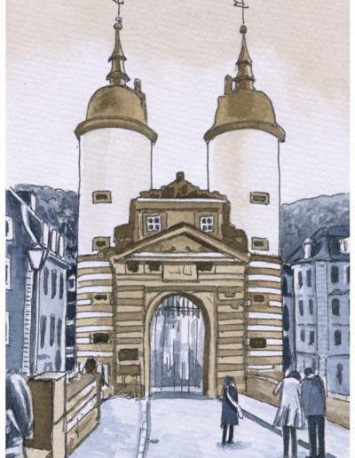 Postkarten Heidelberg 7