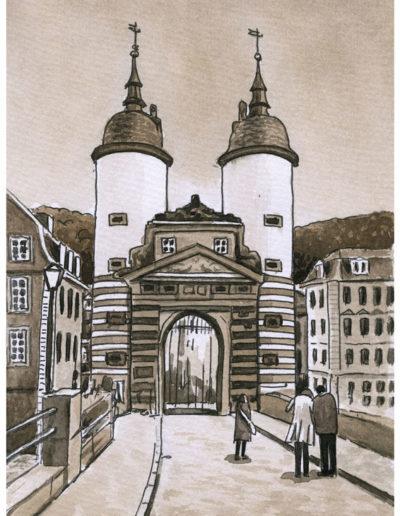 Postkarten Heidelberg 13