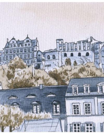 Postkarten Heidelberg 14