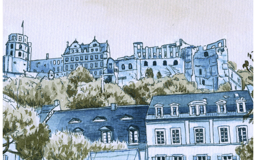 Postkarten Heidelberg