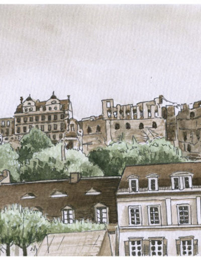 Postkarten Heidelberg 15