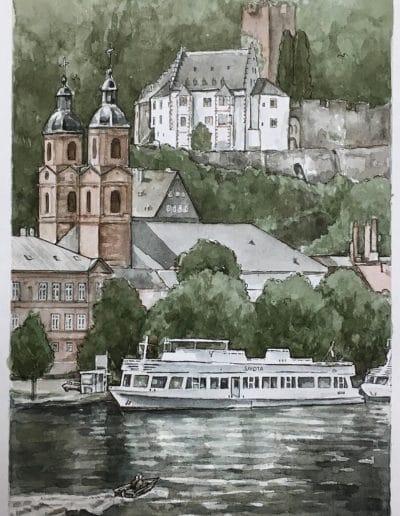 Postkarten Miltenberg 1