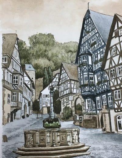 Postkarten Miltenberg 3